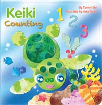 Keiki Counting written by Tammy Yee, illustrated by Yuko Green
