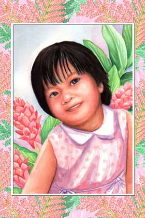 Sherry Gervacio as a toddler