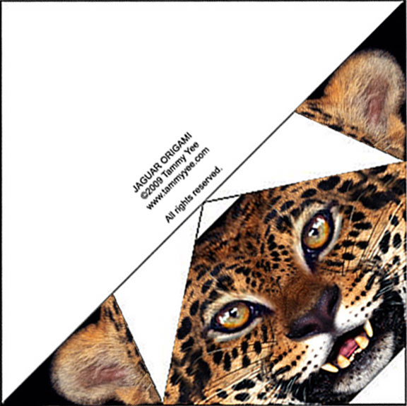 Jaguar Origami.