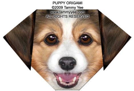 Puppy Origami